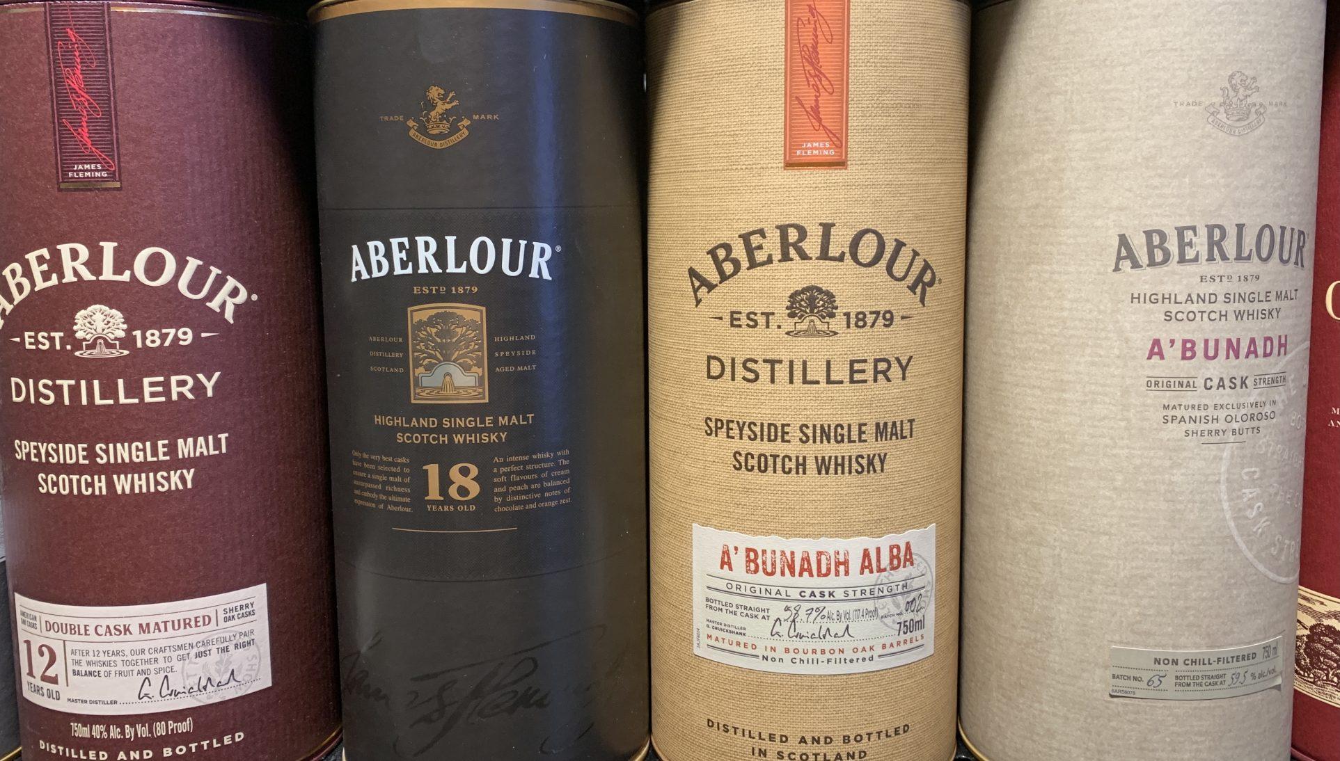 Aberlour Tasting Event